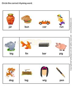 pictures words that rhyme worksheet for kinder - Yahoo Search Results Image Search Results Rhyming Activities, Language Activities, Classroom Activities, Kindergarten Goals, Kindergarten Worksheets, Lkg Worksheets, Teaching Phonics, Jolly Phonics, Education And Literacy