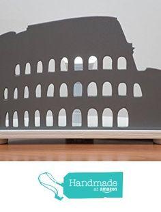 """Lampada da tavolo in legno """"COLOSSEO"""" da Le Fantasie Artigianali di Paolo https://www.amazon.it/dp/B0719R2W9H/ref=hnd_sw_r_pi_dp_TdGjzbR29JQ25 #handmadeatamazon"""