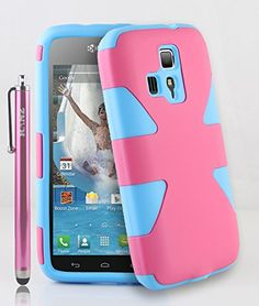 RANZ® Hot Pink/Turquoise Mint Heavy Duty Hybrid Dual Layer ...