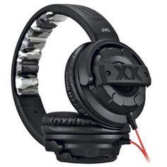 JVC Xtreme Xplosives Around-Ear Headphones | http://www.stoneberry.com
