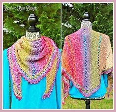 Amazing Grace Crochet Wrap Pattern. Click to Read or Pin and Save for Later!