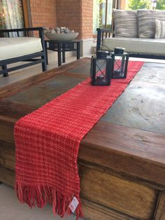 CAMINOS DE MESA Tapestry Weaving, Loom Weaving, Thanksgiving Diy, Weaving Projects, Outdoor Furniture, Outdoor Decor, Diy And Crafts, Shabby Chic, Table Decorations