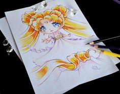 Princess Serenity By Lighane - Chibi Anime, Disney