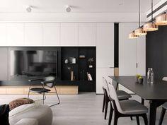 Living room designs modern tv wall 15 Ideas for 2019 Living Room Grey, Living Room Interior, Home Living Room, Apartment Living, Living Room Designs, Modern White Living Room, Modern Room, Modern Tv Wall, Armoires Murales Tv