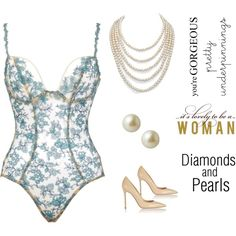 Pretty Underpinnings and Pearls (contest)