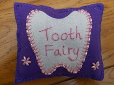 beaded tooth fairy pillow