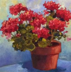 "Daily Paintworks - ""My Own Little Corner"" by Libby Anderson"