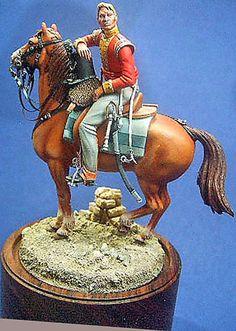 Light infantry officer   (Historex)