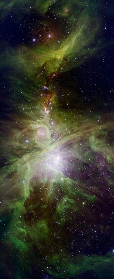 Orion's Dreamy Stars - NASA Spitzer Space