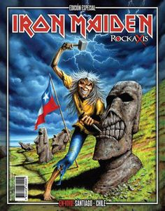 eddie maiden | Rockaxis: Edição especial do Iron Maiden - IRON MAIDEN 666 - BRASIL