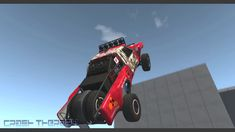 BeamNG DRIVE  Crazy Car Stunts Creator Studio, Weird Cars, Car Crash, Stunts, Cheer Stunts