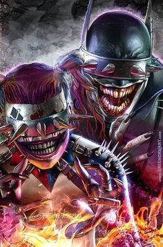 Batman who Laughs & Harley Quinn