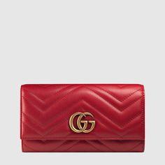 Gucci Lange Brieftasche GG Marmont