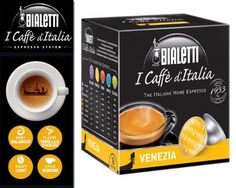 Bialetti: 48 Coffee Capsules Venezia * BOX OF 3 for 16 Capsules * [ Italian Import ] * Want additional info? Click on the image.