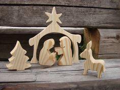 eco Nativity scene fully organic and от LeszyHandmade на Etsy