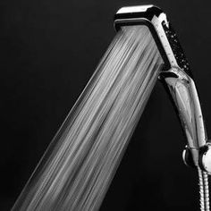 Power Shower - The World's Most Powerful Shower Head Water Saving Shower Head, Power Shower Head, Shower Nozzle, Washing Windows, Shower Fixtures, Cool Gadgets To Buy, Amazing Gadgets, Luxury Shower, Shower Arm