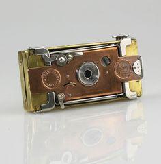HOUGHTON Ensignette No.1 (Nickel) Folding Strut Camera c.1911 - SCARCE (QZ67) | Cameras & Photography, Vintage Photography, Vintage Cameras | eBay! #vintagecameras