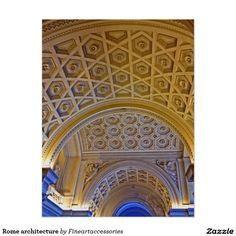 Rome architecture poster