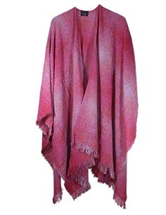 Celtic Ruana Lambswool Rose Check Made in Ireland * For more information, visit http://www.amazon.com/gp/product/B01D0AKNY4/?tag=passion4fashion003e-20&no=250716091439