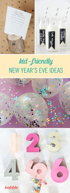 New Year's Eve can be a fun time of celebration with friends and loved ones. But the reality is, parents can't really party hardy on New Year's Eve anymore thanks to their kids. Here's the good news: you can have a different sort of party that you and the kids will both love. Check out these kid-friendly activities for New Year's Eve.