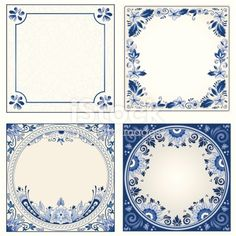 Idee: Dutch night event board Delft blue designs - room for text - or use elements separately for your design Delft Tiles, Blue Tiles, Design Room, Blue Pottery, Free Vector Art, Vector Graphics, Free Illustrations, Blue Design, Royalty Free Images