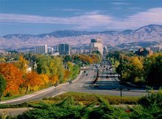 Boise! I loved it here. It's like the perfect mix of city and country. Tons of stuff to do outdoors and the city it's self is so cool.