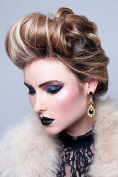 Ice Queen - Makeup and Hair