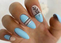 Light Blue Nails, Beauty, Ongles, Beauty Illustration