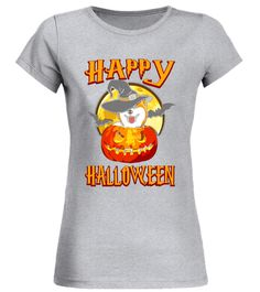 AKITA Dog Happy Halloween T-shirt Pumpkin Costumes Akita T-shirt