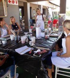 Introduction to Chalk Paint - Workshop Woman Painting, Chalk Paint, Workshop, Atelier, Work Shop Garage
