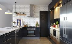 Renovating your kitchen need not send you broke, as this budget-friendly renovation reveals. It achieves high-end style without a high-end pricetag. Kitchen On A Budget, Kitchen Dining, Kitchen Decor, Kitchen Ideas, Family Kitchen, Kitchen Designs, Dining Rooms, Home Renovation, Home Remodeling