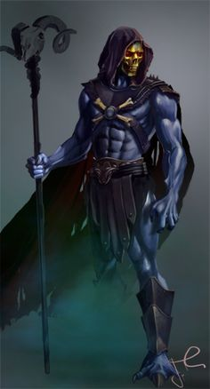 Skeletor by garygillmore.deviantart.com on @DeviantArt