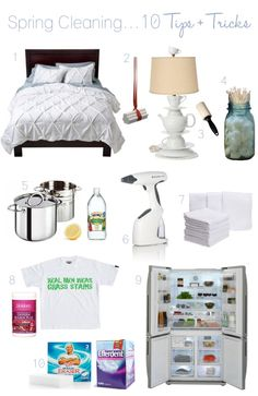 Spring Cleaning Tips & Tricks - Click image to find more DIY & Crafts Pinterest pins