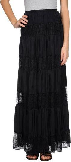 Catherine Malandrino Black Long Skirt