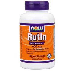 Now Foods Rutin 450 Mg 100 Vegetable Capsules