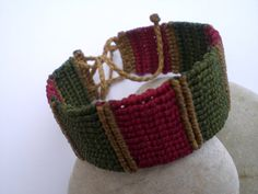 Macrame bracelet for women. Macrame bracelet for me. by asmina