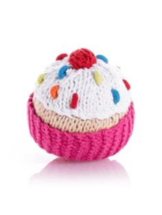 Cupcake Rattle $14.00 USD   -Hand knitted and crocheted -Cuddly and fun -No sharp edges -Meets all U.S. Consumer Product Safety regulations  - Country: Bangladesh