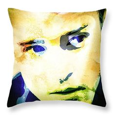 Throw Pillow with Justin Timberlake #JustinTimberlake #celebrity #pillow #art #popart #fineart #celebs