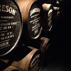 Learn about the whiskey-making process on a tour of the Old Jameson Distillery.