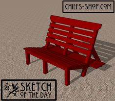 Sketch of the Day: Gaming Bench