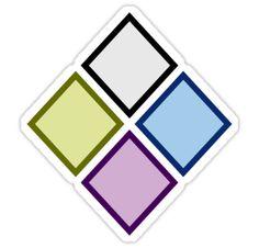 """Steven Universe Diamond Authority Sticker"" Stickers by pixiedustprince Steven Universe Stickers, Steven Universe Diamond, Diamond Authority, Notebook Stickers, Universe Art, Drawing Base, Ancient Symbols, Future Tattoos, Box Design"