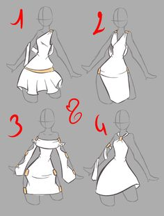 nähen - How to Draw Manga and random shit - Kleidung Drawing Reference Poses, Design Reference, Hand Reference, Drawing Sketches, Art Drawings, Dress Sketches, Sketching, Drawing Lessons, Drawing Tips