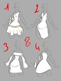 nähen - How to Draw Manga and random shit - Kleidung Fashion Design Drawings, Fashion Sketches, Art Sketches, Art Drawings, Outfit Drawings, Random Drawings, Drawing Fashion, Drawing Sites, Drawing Lessons