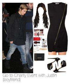 """Go to Charity Event with Justin"" by myllenna-malik ❤ liked on Polyvore featuring Forever 21, Bouchra Jarrar, Brian Atwood, Charlotte Tilbury, Elizabeth Arden, Deborah Lippmann, SO, Ted Baker, Justin Bieber and bieber"