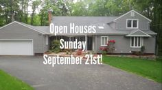 Please join us at out Open Houses Sunday, Sept. 21st!
