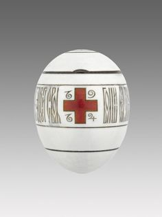 Imperial Red Cross Easter Egg with Portraits, 1915.