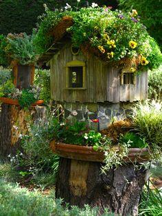A Garden Fairy Cottage