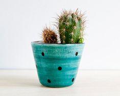 Ceramic small plant pot Ceramic planter Succulent planter
