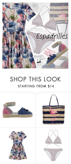"""Step into Summer: Espadrilles"" by vanjazivadinovic ❤ liked on Polyvore featuring Chiara Ferragni, Tiffany & Co., Draper James, Whiteley, Urban Decay, happyhour, polyvoreeditorial and zaful"