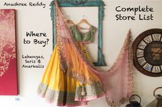 Anushree Reddy Store List Complete